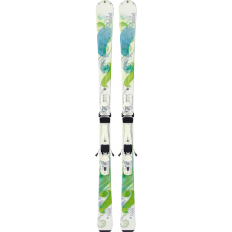 White/green