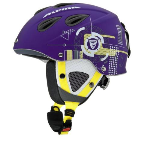 Grap purple-yellow matt 57-61