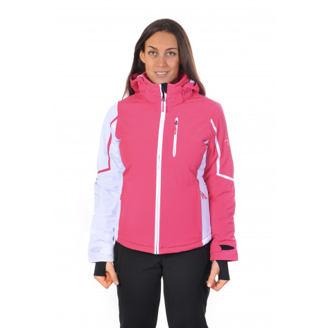 Silver Mirror Jacket raspberry/white 40 (2013-2014)