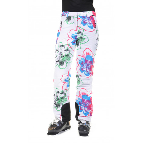 Silver Star Pants white flower print 34 (2013-2014)