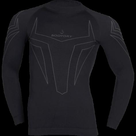 X-Shock Shirt Turtle Neck black L