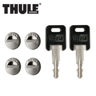THULE Система замков Thule One Key System 544 (4шт) фото